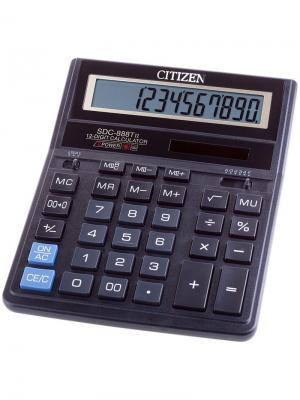 Калькулятор карманный LC-110NPK 8 разрядов, питание от батарейки, 58*87*12 мм, розовый CITIZEN. Цвет: розовый
