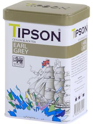Чай Tipson EARL GREY, 85 гр., ж/б. Цвет: черный