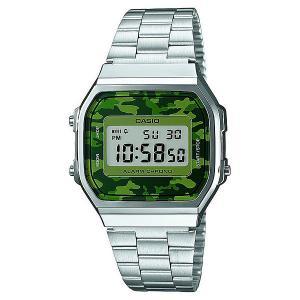 Часы  Collection A-168wec-3e Grey/Green Casio. Цвет: серый,зеленый