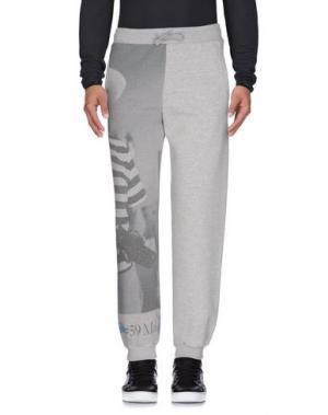 Повседневные брюки KEYHOLE. Цвет: светло-серый