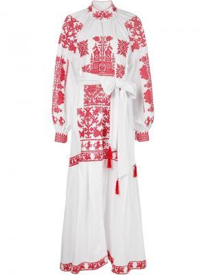 Платья Yulia Magdych. Цвет: белый