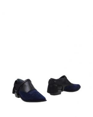 Ботинки MR. WOLF. Цвет: ярко-синий