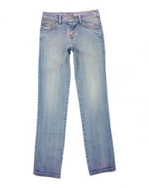 Джинсовые брюки PAESAGGino. Цвет: синий