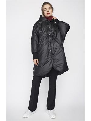 Пальто Sultanna Frantsuzova. Цвет: черный