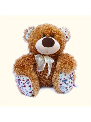 Мягкая игрушка Медвежонок Ник, Malvina. Цвет: рыжий