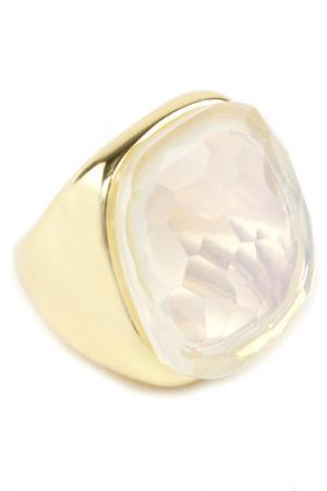 Кольцо Donna Lorena. Цвет: белый, золото