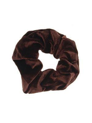 Резинка для волос Gusachi. Цвет: коричневый