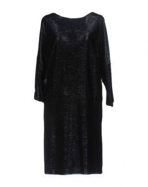 Короткое платье VALENTINE GAUTHIER. Цвет: темно-синий