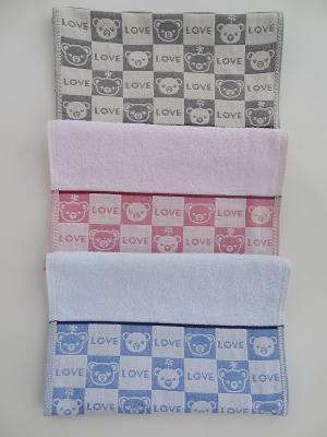 Полотенца банные A and C Collection. Цвет: бежевый, бледно-розовый, светло-голубой