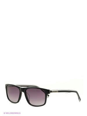 Очки солнцезащитные BK 671S 01 Bikkembergs. Цвет: черный