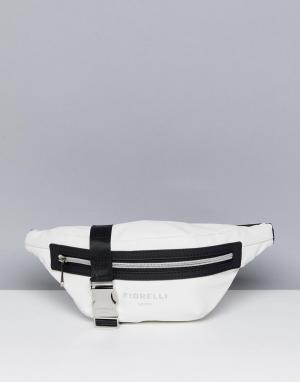 Fiorelli Sport Белая сумка-кошелек на пояс. Цвет: мульти
