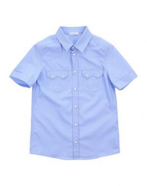 Pубашка DOLCE & GABBANA. Цвет: пастельно-синий