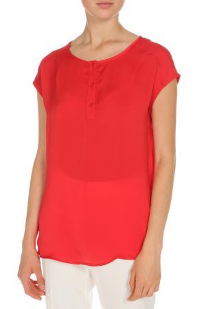 Блуза OUI. Цвет: красный