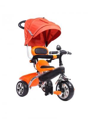 Велосипед Pit Stop. Цвет: оранжевый, серебристый, черный