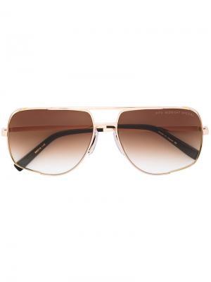 Солнцезащитные очки Midnight Special Dita Eyewear. Цвет: металлический