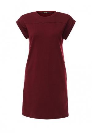 Платье Mim. Цвет: бордовый