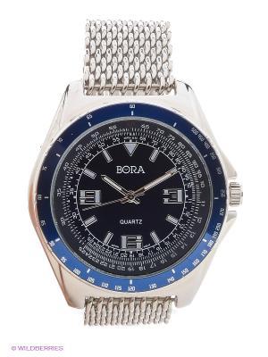 Часы Bora. Цвет: голубой