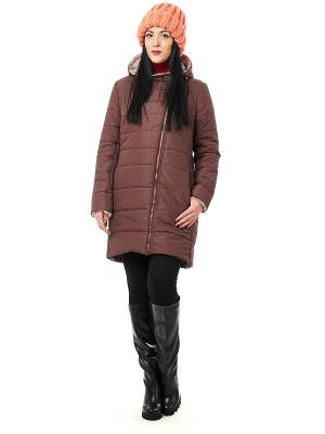 Пальто Best&Best. Цвет: темно-коричневый