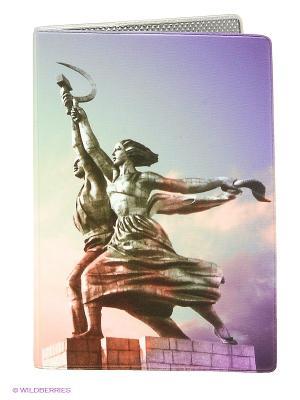 Обложка для паспорта Mitya Veselkov. Цвет: сиреневый