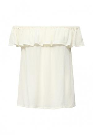 Блуза Ichi. Цвет: белый