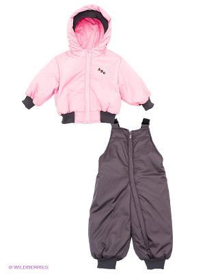 Комплект Avanti Piccolo. Цвет: темно-коричневый, бледно-розовый