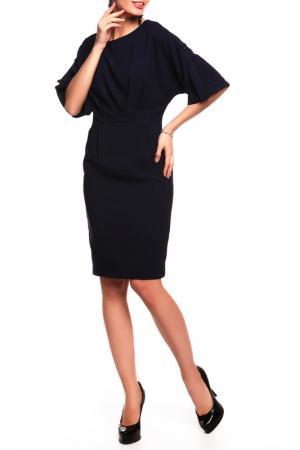 Платье Disetta. Цвет: темно-синий