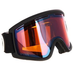 Маска для сноуборда  Cleaver I-Type Black Satin/Wildlife Low Light Von Zipper. Цвет: черный