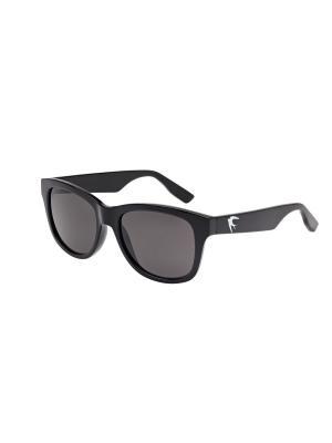 Солнцезащитные очки McQueen. Цвет: прозрачный, черный