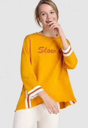Свитшот Southern Cotton Jeans. Цвет: желтый