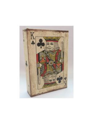 Набор бумажных игральных карт Король треф Magic Home. Цвет: белый
