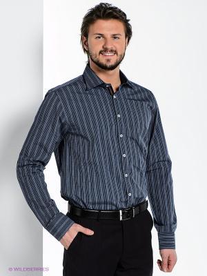 Рубашка MONDIGO. Цвет: серо-голубой