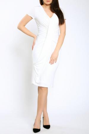 Платье Emma Monti. Цвет: white
