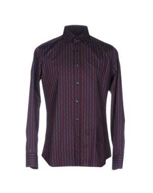 Pубашка CALIBAN. Цвет: красно-коричневый