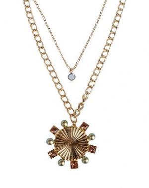 Ожерелье CA&LOU. Цвет: золотистый
