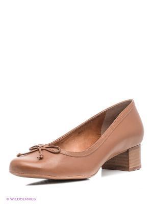 Туфли Ridlstep. Цвет: коричневый