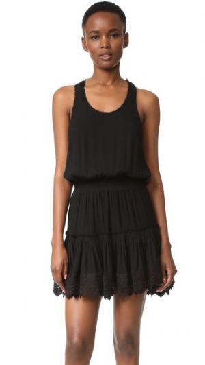 Платье Goldie MISA. Цвет: оникс