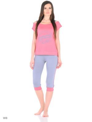 Спортивный костюм NAGOTEX. Цвет: розовый, серый