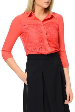 Рубашка Dewberry. Цвет: coral