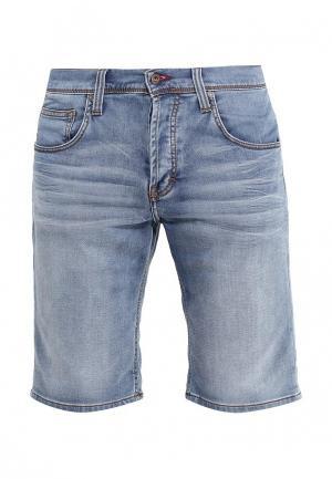 Шорты джинсовые Mustang. Цвет: голубой