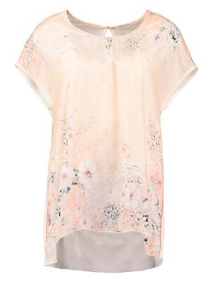 Блузка HAUBER. Цвет: молочный