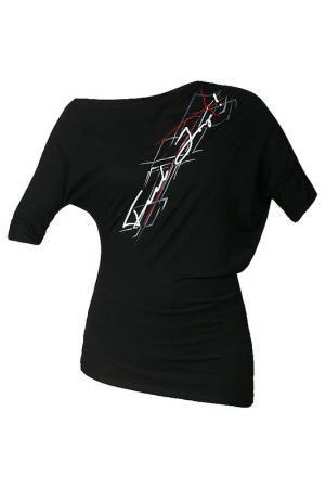 Блуза FEELJ!. Цвет: черный