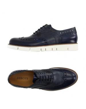 Обувь на шнурках SEBOY'S. Цвет: темно-синий