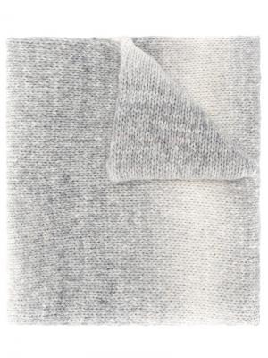Шарф Rainbow Giada Benincasa. Цвет: серый