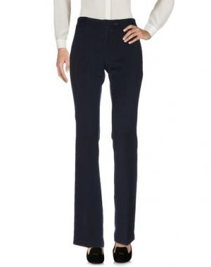 Повседневные брюки HANNY DEEP. Цвет: темно-синий