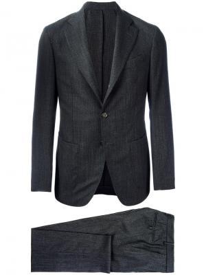 Брючный костюм Borrelli. Цвет: чёрный