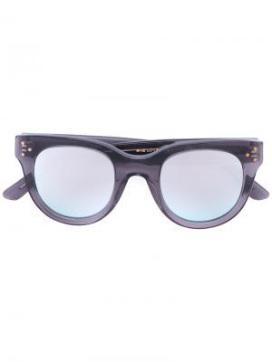 Солнцезащитные очки с зеркальными линзами Spektre. Цвет: серый