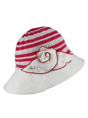 Шляпка Level Pro. Цвет: красный, белый