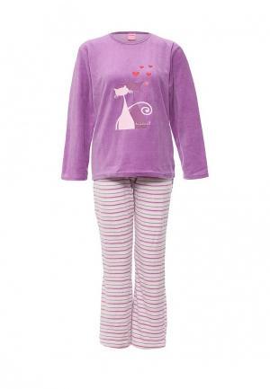 Пижама Kinanit. Цвет: фиолетовый