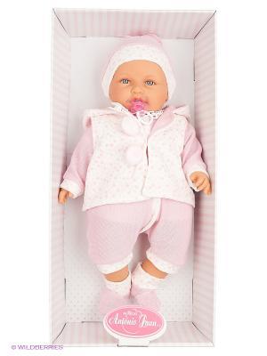 Кукла Бенита в розовом, озвученная,55см Antonio Juan. Цвет: розовый