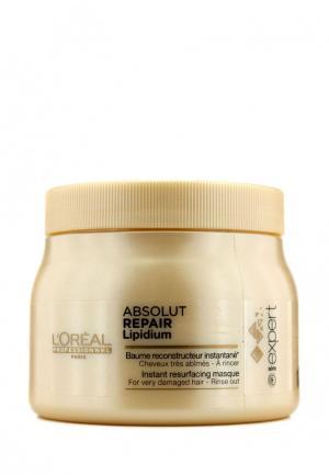 Маска для волос LOreal Professional L'Oreal. Цвет: золотой